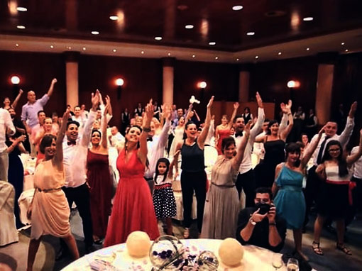 Flashmobs para bodas originales y divertidas con Up!Espectacles