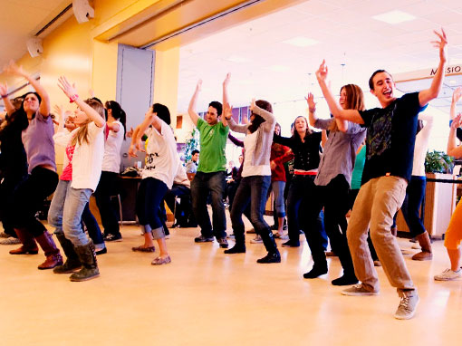 Eventos para empresas: Flashmob con Up!Espectacles