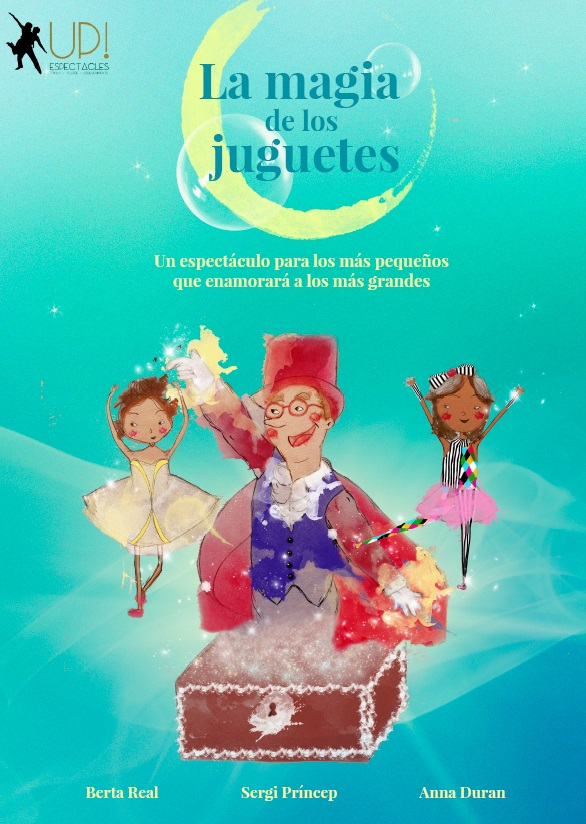 La màgia de les joguines, un espectáculo de Up!Espectacles