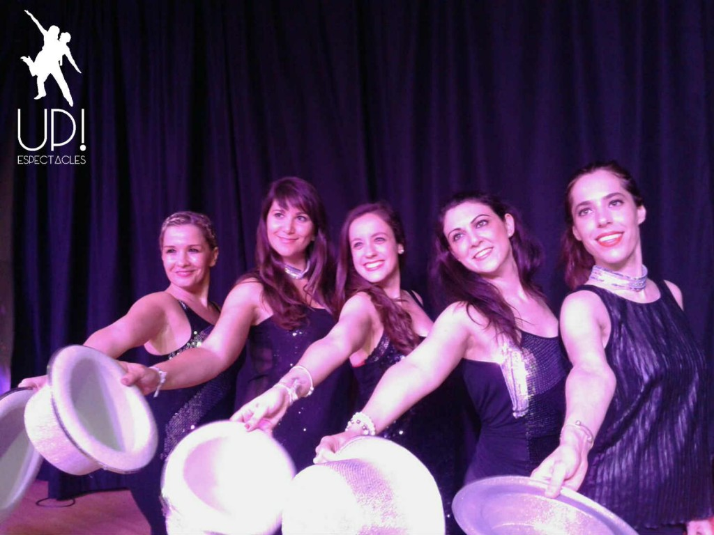 Nuestras bailarinas de Broadway Jazz - Up! Espectacles