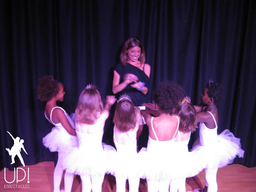 Las más pequeñas en le festival de Ballet y Jazz - Up! Espectacles
