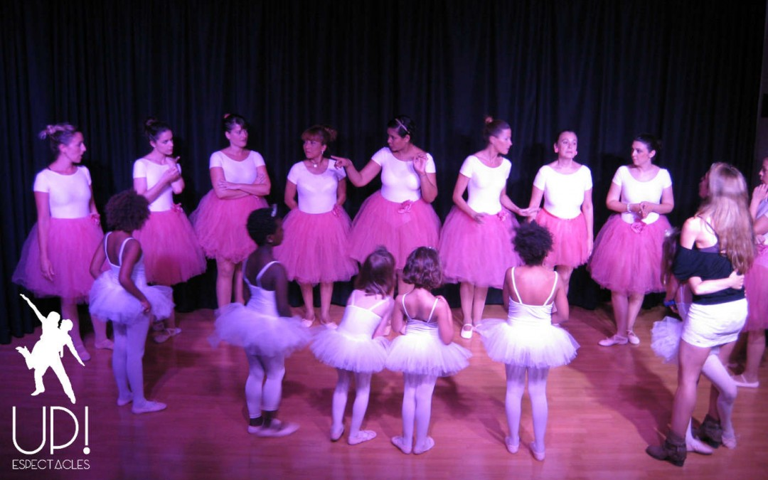 Clases de ballet y jazz, final de curso
