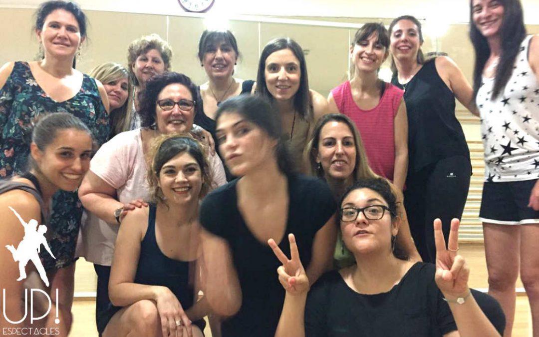 Celebramos la despedida de Eli con un taller de baile grease