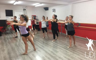 Última semana de clases de ballet para adultos