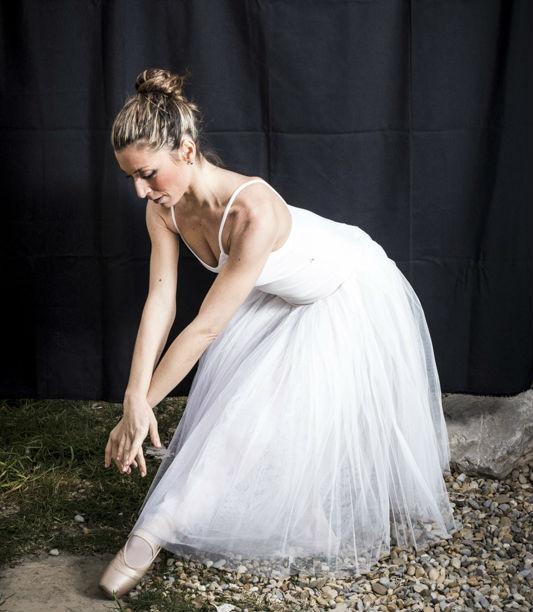 Una sesión de fotos de ballet