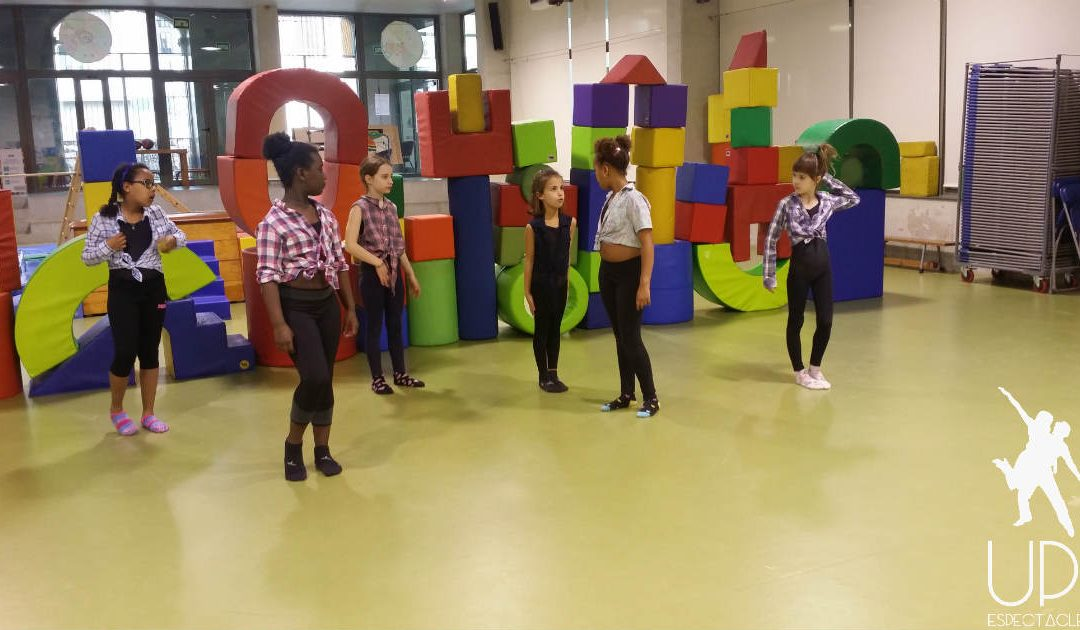 Grabamos un videoclip en nuestras extraescolares de danza