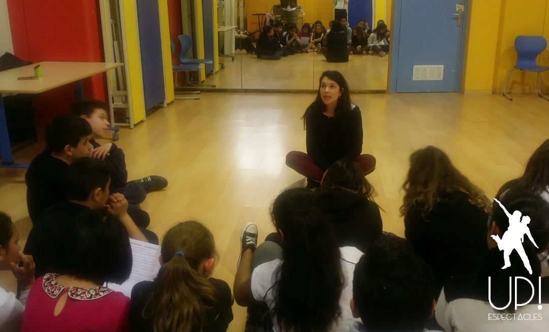 Un taller de danza integrada en el cole Miquel Bleach