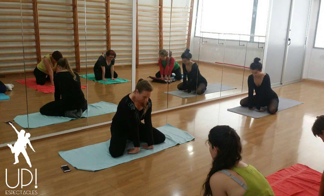 Neo clasico y una sesión de yoga en nuestro workshop de Marzo