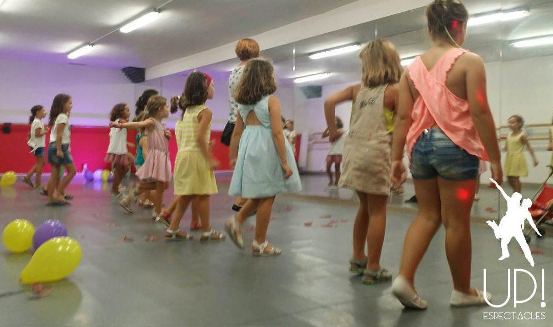 Una actividad de baile Videoclips para celebrar el cumple de Nerea