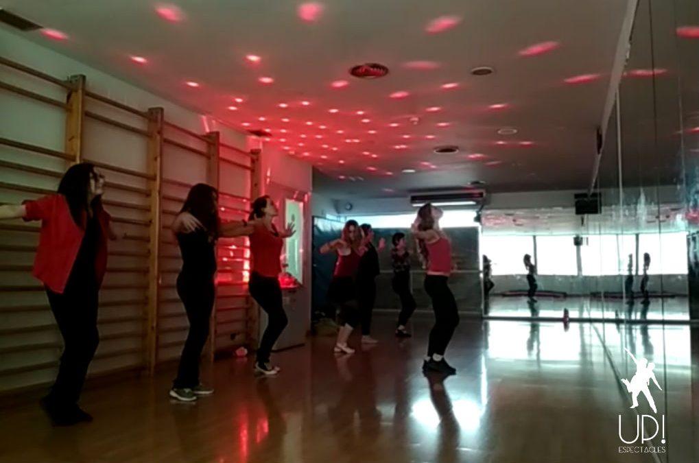 Un taller de coreografías muy sensual y divertido