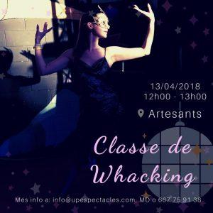 5a15ef825971 El Whacking es un estilo de danza que surge con la finalidad de expresarse  y liberarse a través de la música funk de los años 80's.