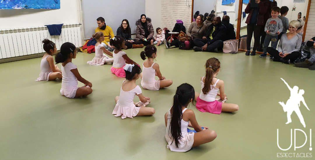 Clases abiertas en las extraescolares de ballet