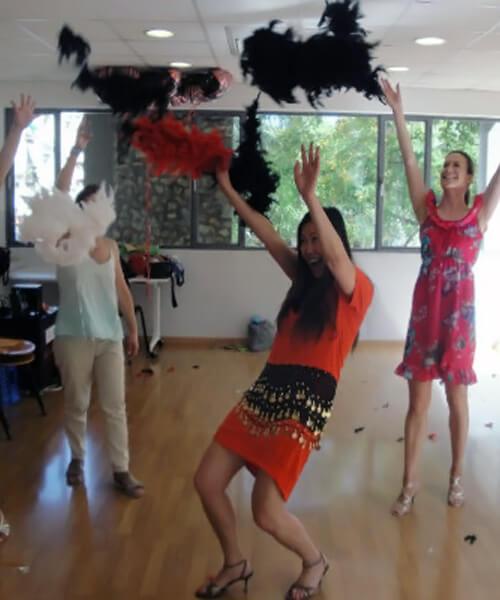 Despedida de soltera cabaret y burlesque en Barcelona con Up!Dansa