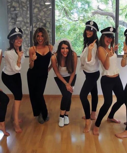 Despedidas de soltera originales en Barcelona con Up!Dansa