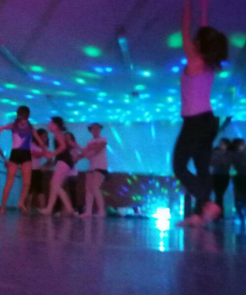 Mini disco infantil en Barcelona con Up!Dansa