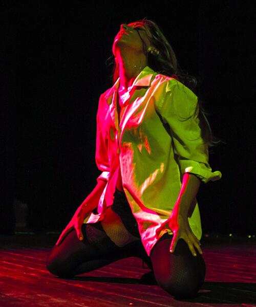 Taller de baile sensual dance en Barcelona con Up!Dansa