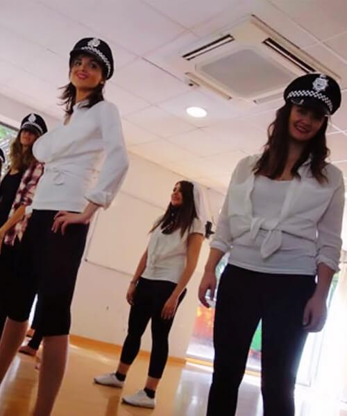 Despedida de soltera videoclips en Barcelona con Up!Dansa