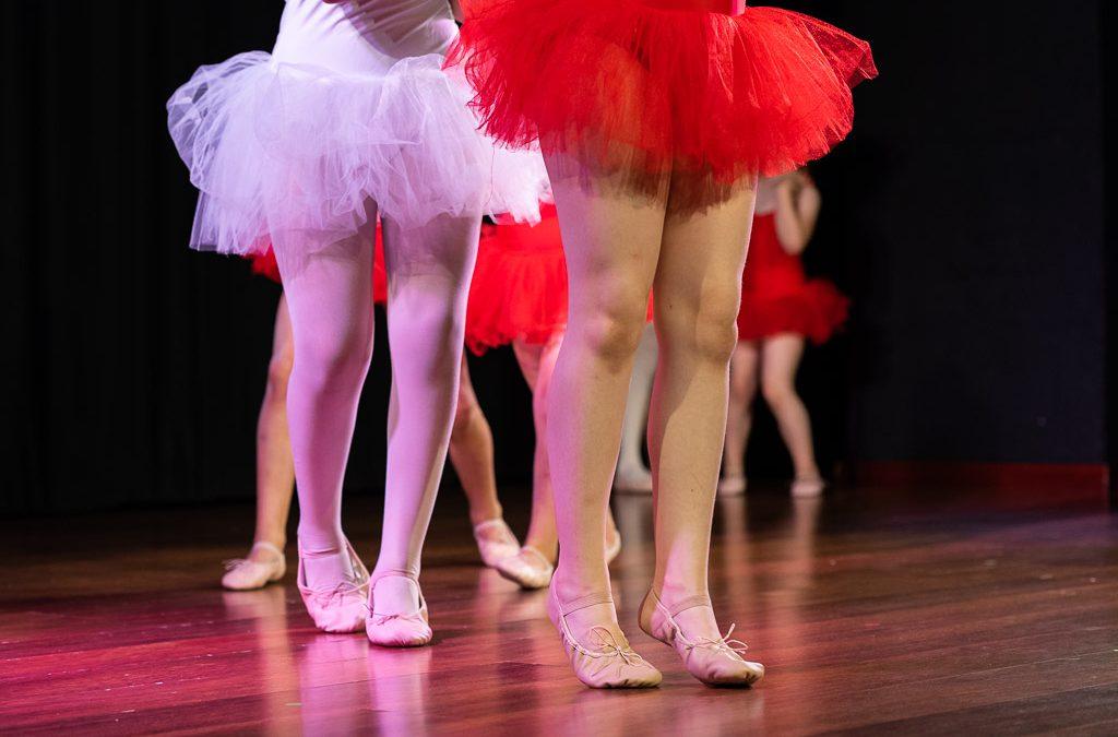 Nos encantan las clases de ballet infantil