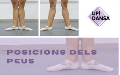 Aprendemos las posiciones básicas de los pies en ballet