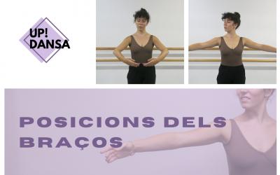 Aprendemos las posiciones básicas de los brazos en ballet