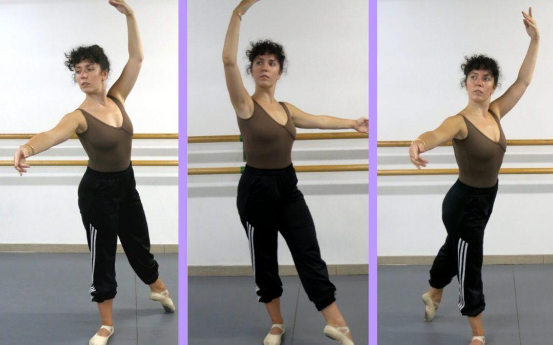 Aprendemos las alineaciones de ballet